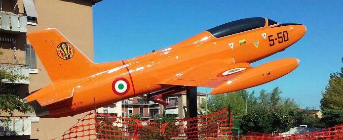 Fidenza, sindaco Pd dedica monumento ad aviatore della Repubblica di Salò