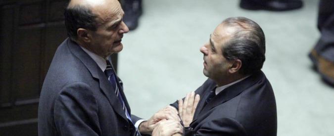 """Di Pietro strizza l'occhio a Bersani: """"Pronto a partecipare ad un progetto con Mdp"""""""