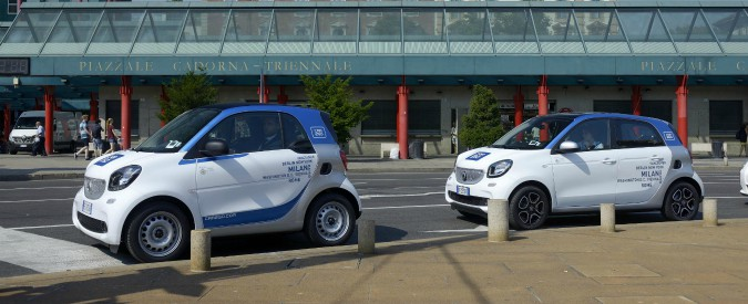 Car sharing, non un buon affare. In Italia si perdono 4.700 euro a macchina