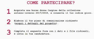 """Carpisa si scusa dopo le polemiche sul concorso 'Acquista una borsa e vinci uno stage da noi': """"Siamo stati superficiali"""""""