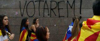 Referendum Catalogna, prime occupazioni dei seggi: manifestanti con i trattori. Migliaia a comizio finale per il Sì