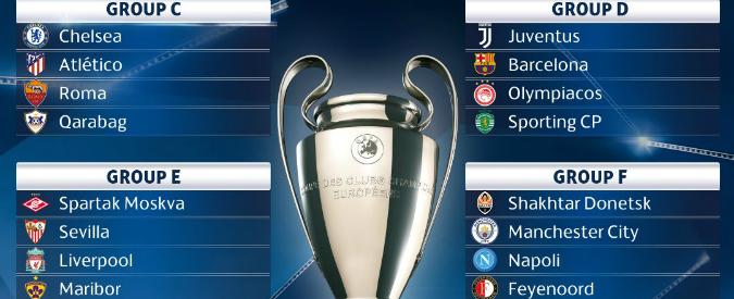 Champions League, parte la sfida al Real: l'Italia può sperare nella Juve, ma anche sognare con Napoli e Roma
