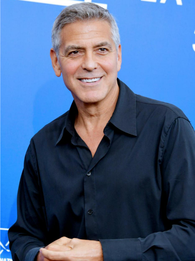 """Mostra del Cinema di Venezia 2017, George Clooney: """"Sarebbe divertente essere il presidente degli Stati Uniti"""""""