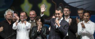 """M5s, l'investitura di Di Maio: """"Faremo tesoro degli errori commessi. La regola dei due mandati non si tocca"""""""