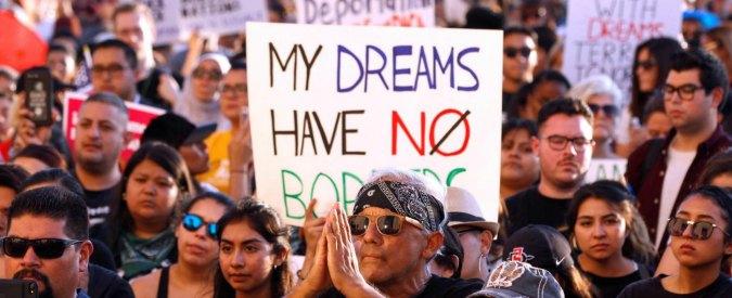 """Dreamers, 15 Stati contro Donald Trump. Il presidente Usa: """"Nessun ripensamento"""""""