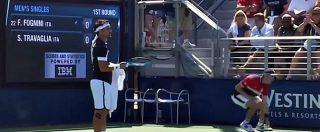 Tennis, l'azzurro Fognini perde la testa sul campo: insulti sessisti e irripetibili alla giudice di sedia