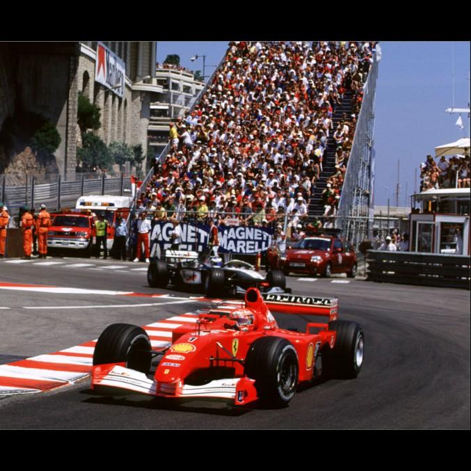 Ferrari, all'asta la monoposto di Schumacher vittoriosa a Monaco nel 2001