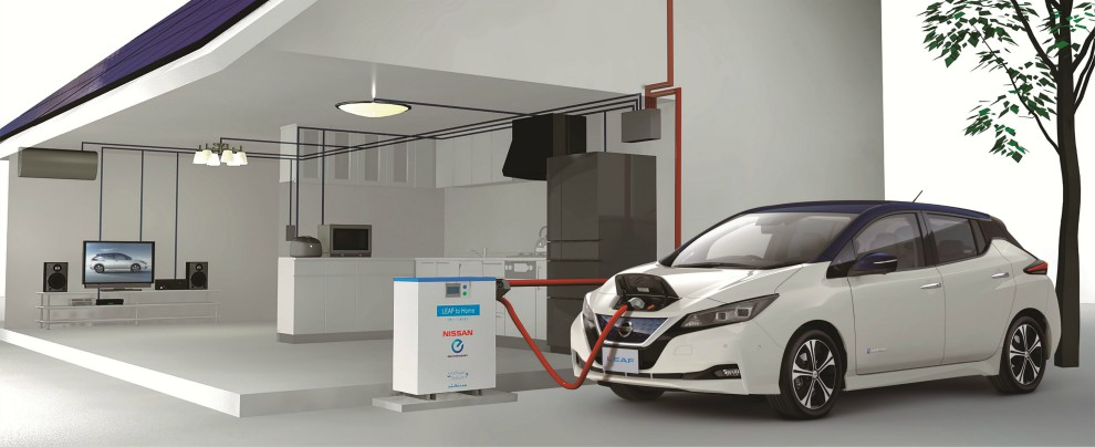 Nissan Leaf atto II, più che un'auto un progetto di mobilità a emissioni zero – FOTO