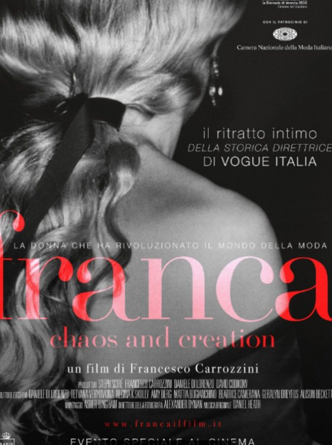 Franca, Chaos and Creation, il documentario su Franca Sozzani arriva al cinema