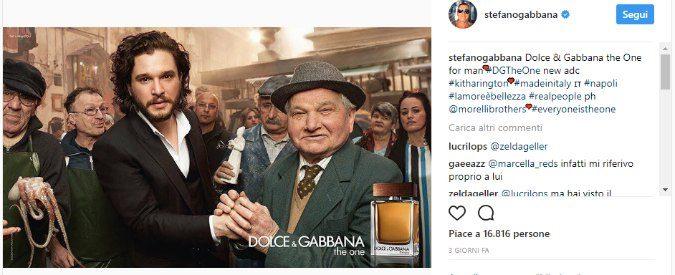 D&G, Stefano Gabbana contro Voce di Napoli. Ma 'Schifosi' a chi?