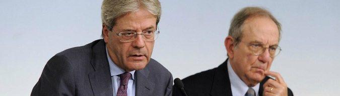 Manovra, la procedura di infrazione Ue nasce dall'eccesso di debito lasciato in eredità da Padoan