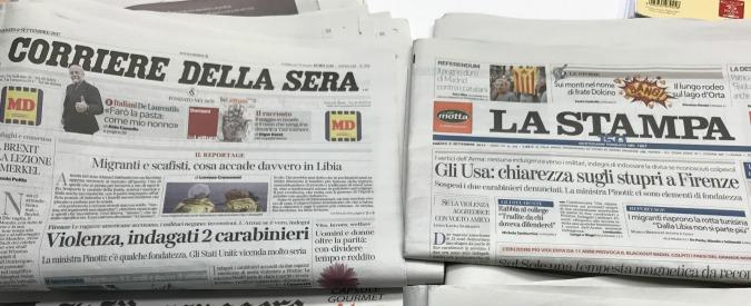 Intercettazioni, niente post-it e scioperi: quasi tutti i giornali ignorano il bavaglio del Pd