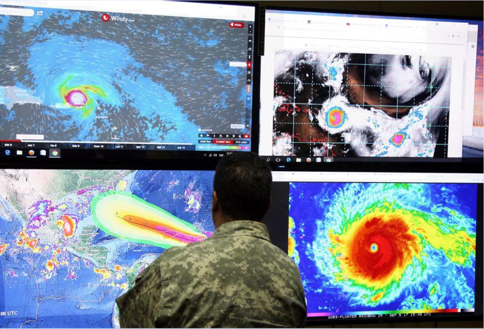 Irma: il potente uragano, ora di categoria 5, punta verso i Caraibi