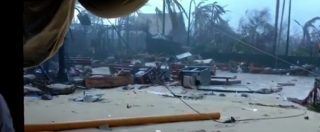 """Uragano Irma, il video del miliardario britannico Richard Branson: """"Qui è tutto distrutto"""""""
