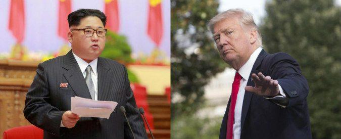 Donald Trump vs Kim Jong-un, io ho più atomiche di te