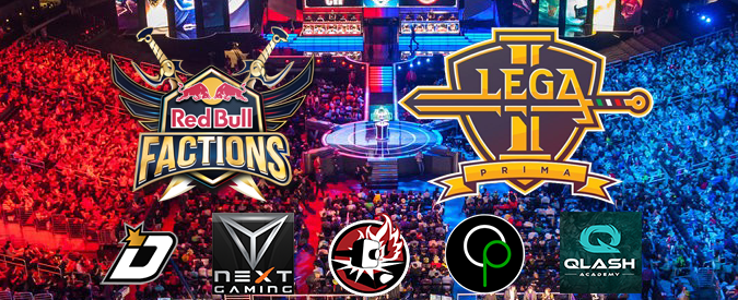 League of Legends: due weekend di fuoco per i team italiani con Red Bull Factions e Lega Prima Romics