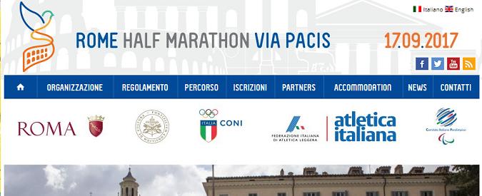Roma Half Marathon Via Pacis, l'appello dei musulmani: corriamo anche per il diritto di culto