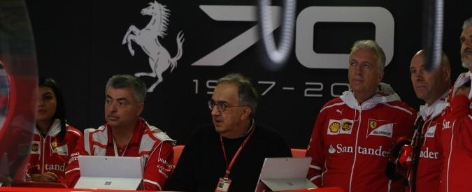 """Gp Monza, Marchionne: """"Oggi differenza imbarazzante, mi stanno girando un po' le balle"""""""
