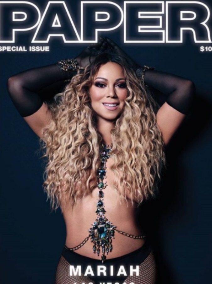 Mariah Carey, a Los Angeles con il fidanzato senza paura di mostrare i kg di troppo