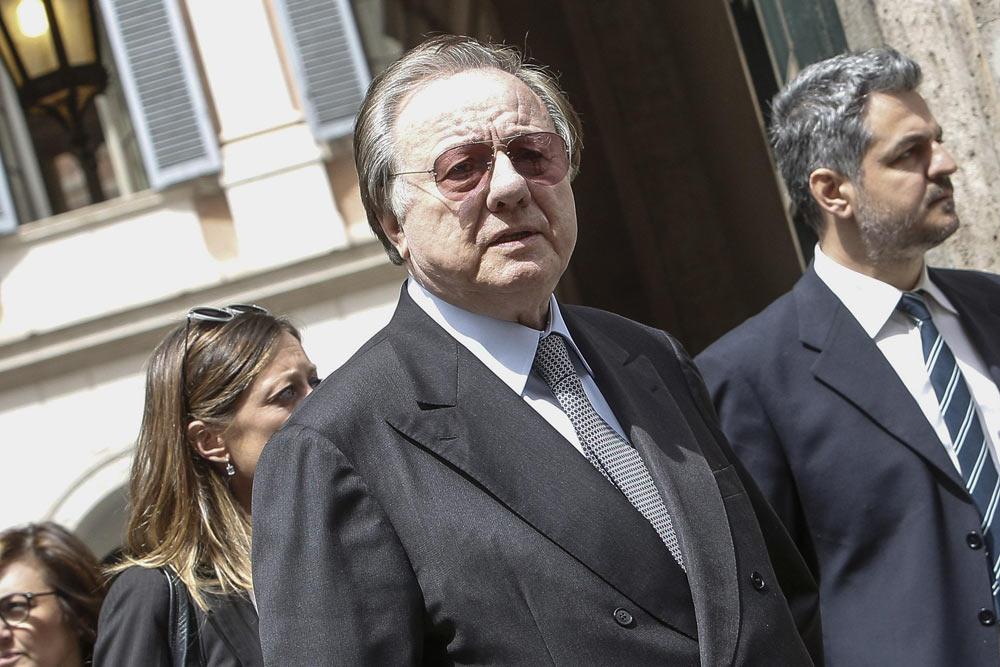 Mose, condanna a 4 anni per l'ex ministro Matteoli
