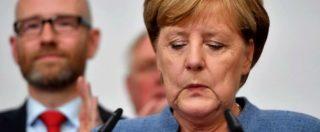 """Elezioni Germania, Merkel vince ma la governabilità è a rischio. Schulz: """"Basta coalizione"""". L'ultradestra è la terza forza"""