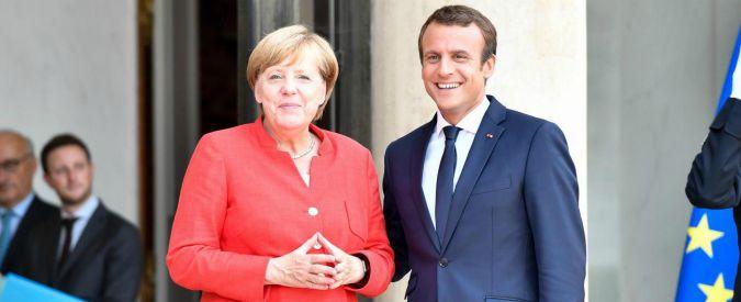 """Eurozona, Spiegel: """"C'è intesa tra Parigi e Berlino sull'eurobudget. Niente fondi per chi, come Roma, non rispetta regole Ue"""""""