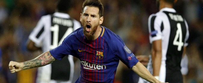 Champions League, Messi abbatte la Juve: 3-0 a Barcellona. Le parate di Alisson salvano la Roma