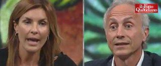 """Intercettazioni, Travaglio vs Moretti. La deputata Pd: """"Ex ministra Guidi subì gogna mediatica"""". Lui smonta parola per parola"""