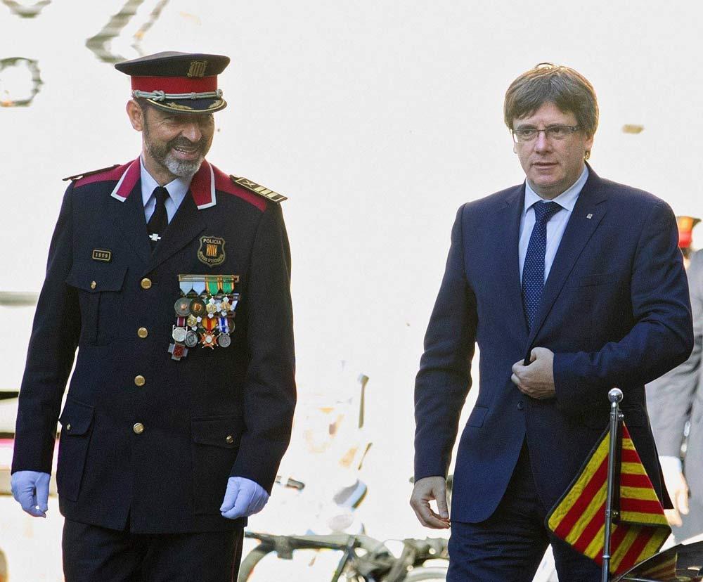 Il diktat di Madrid alla polizia catalana: fermate il referendum