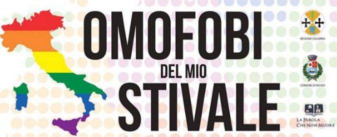 Omofobi del mio Stivale, così Ricadi dice: 'No alla discriminazione'