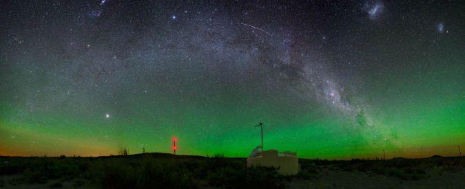 Raggi cosmici che colpiscono la Terra arrivano da galassie oltre la Via Lattea