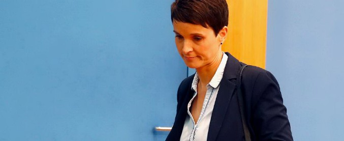 """Germania, la presidente di Afd annuncia: """"Io fuori dal gruppo parlamentare"""". Già rischio spaccatura nell'estrema destra"""
