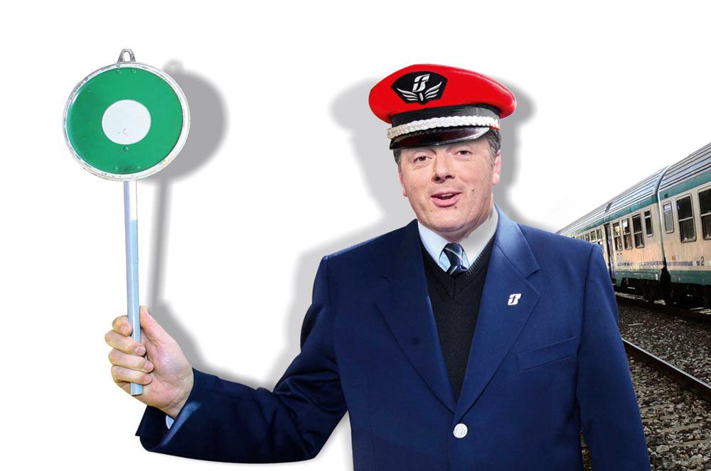 Sul Fatto del 27 settembre: Il Pd è in bolletta e Renzi parte su un treno da 400 mila euro