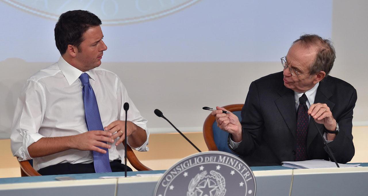 Ossessione Fiscal compact. Renzi pensa solo al deficit