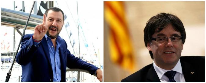 Referendum, dieci differenze tra indipendentisti italiani (Lega Nord) e catalani
