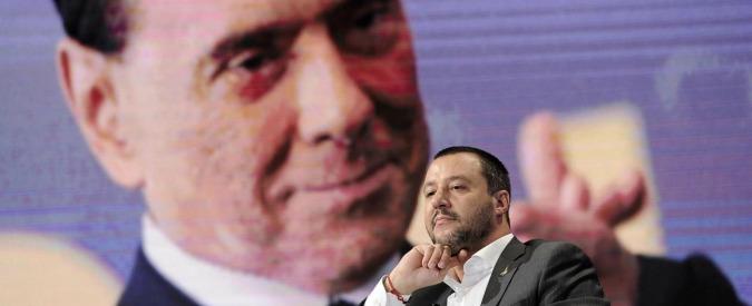 """Salvini: """"Ok a coalizione con Berlusconi. Ma è importante che  prenda tanti voti altrimenti come faccio a fare il premier?"""""""