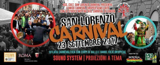 Roma: altro che marcia fascista, da Londra a San Lorenzo si festeggia il Carnival afro-latino