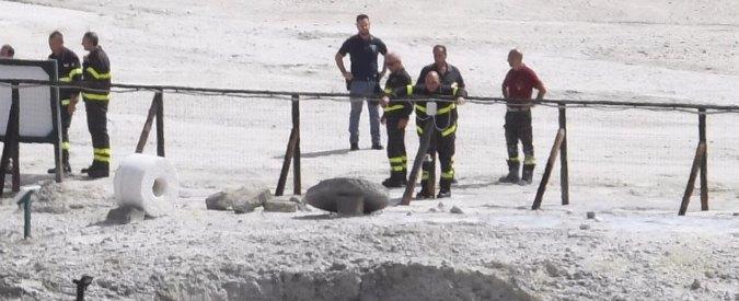 Pozzuoli, famiglia precipita nel cratere della solfatara: morti padre, madre e figlio 11enne. Salvo il fratello di 7 anni