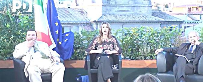 Pd, sulla terrazza del Nazareno dibattito in stile Forza Italia: Giuliano Ferrara parla dell'incubo della Repubblica giudiziaria