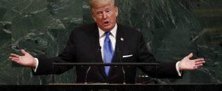 """Onu, Trump su Nord Corea: """"Se costretti, non c'è alternativa alla sua distruzione"""". Macron lo critica su clima e isolazionismo"""