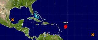 Usa, uragano Irma innalzato a massima pericolosità. Proclamato stato di emergenza in Florida e a Porto Rico