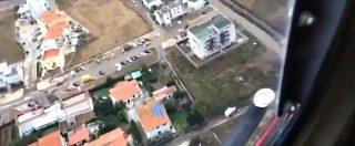 Maltempo Livorno, con l'elicottero dei Vigili del fuoco sopra le aree devastate dal nubifragio. Le immagini dall'alto