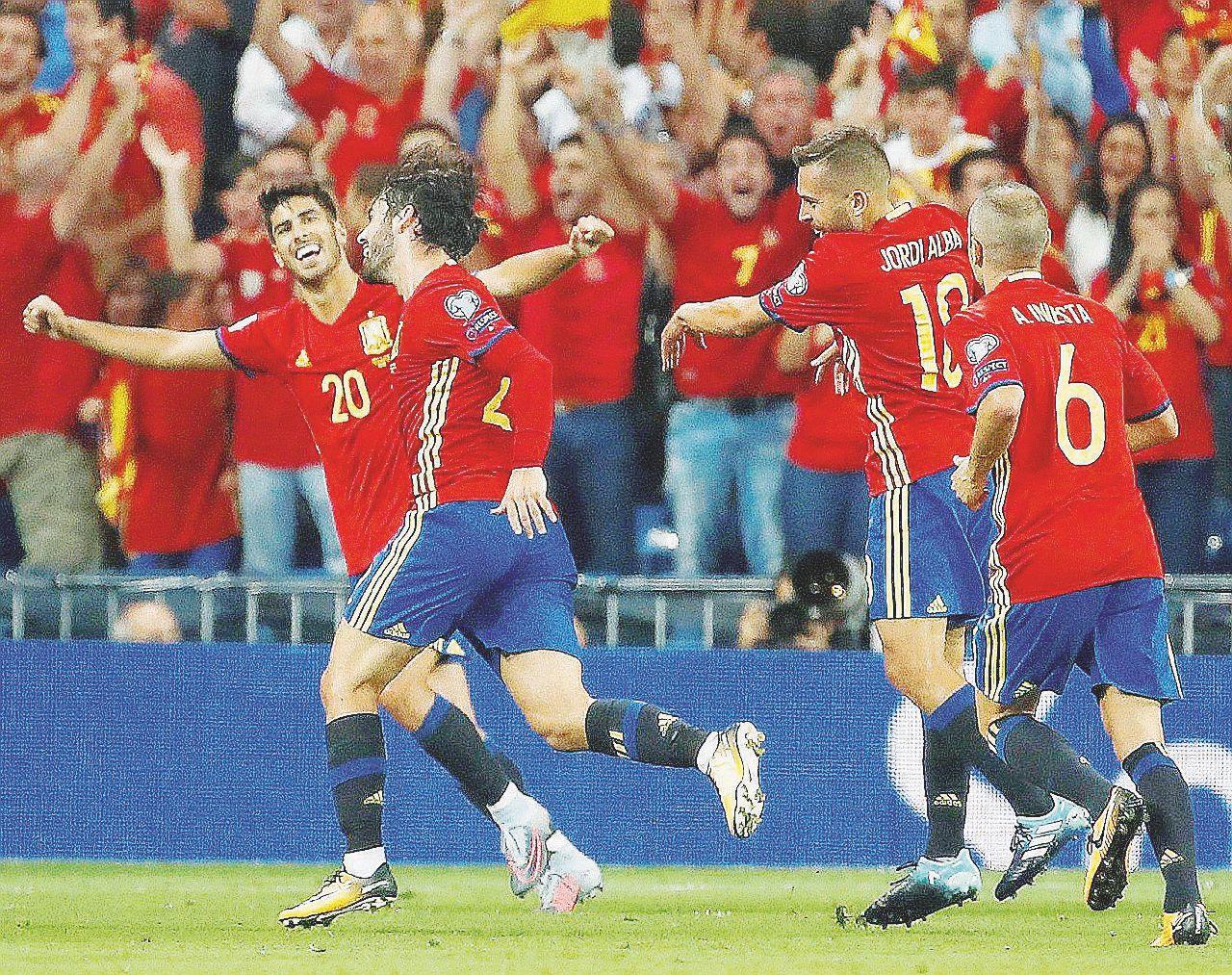 La Spagna umilia l'Italia. Ora i Mondiali sono a rischio
