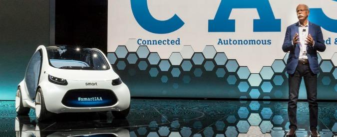 """Daimler, Zetsche: """"a partire dal 2020 le Smart saranno solo elettriche"""""""