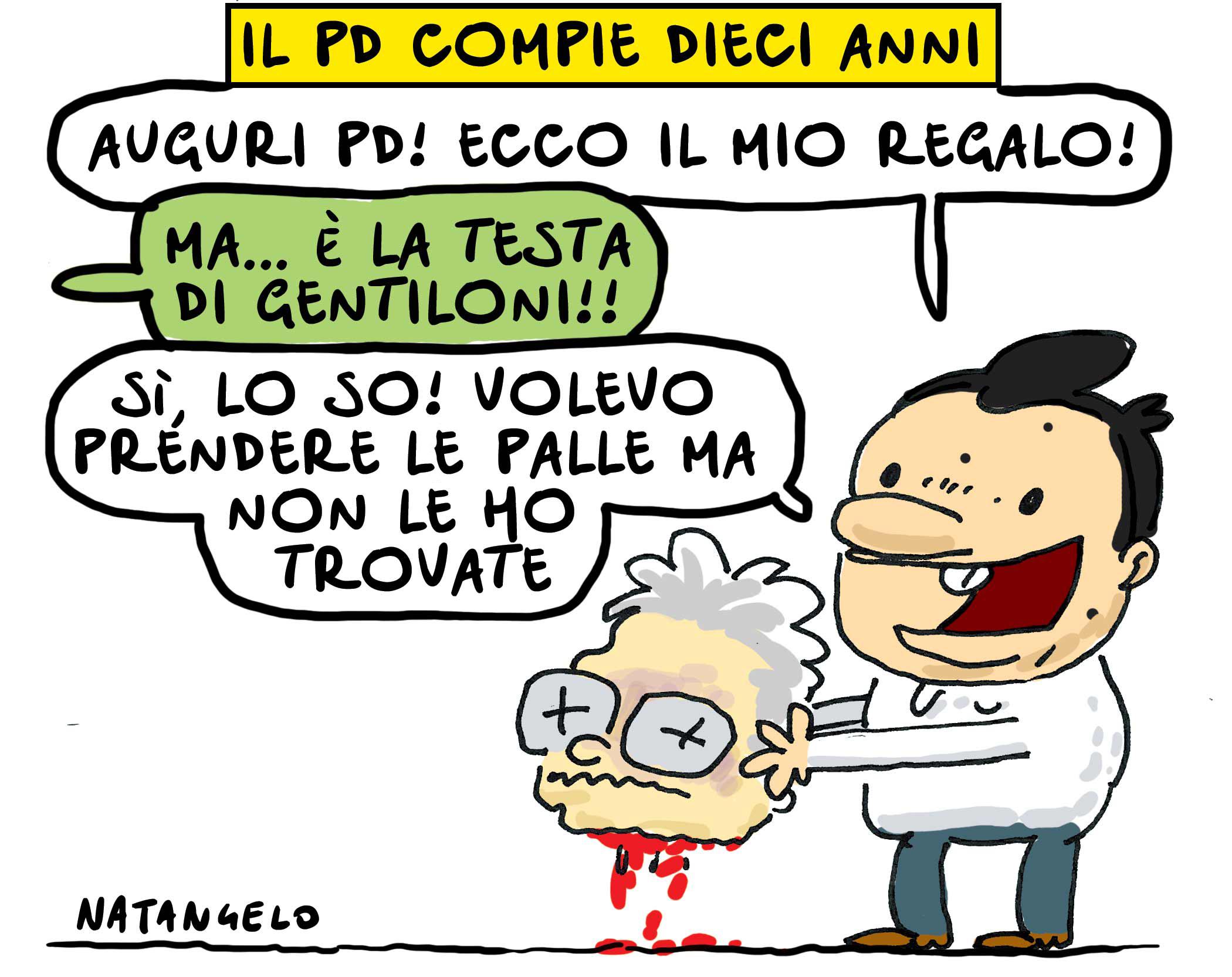 #10anniPD Il regalo di Renzi