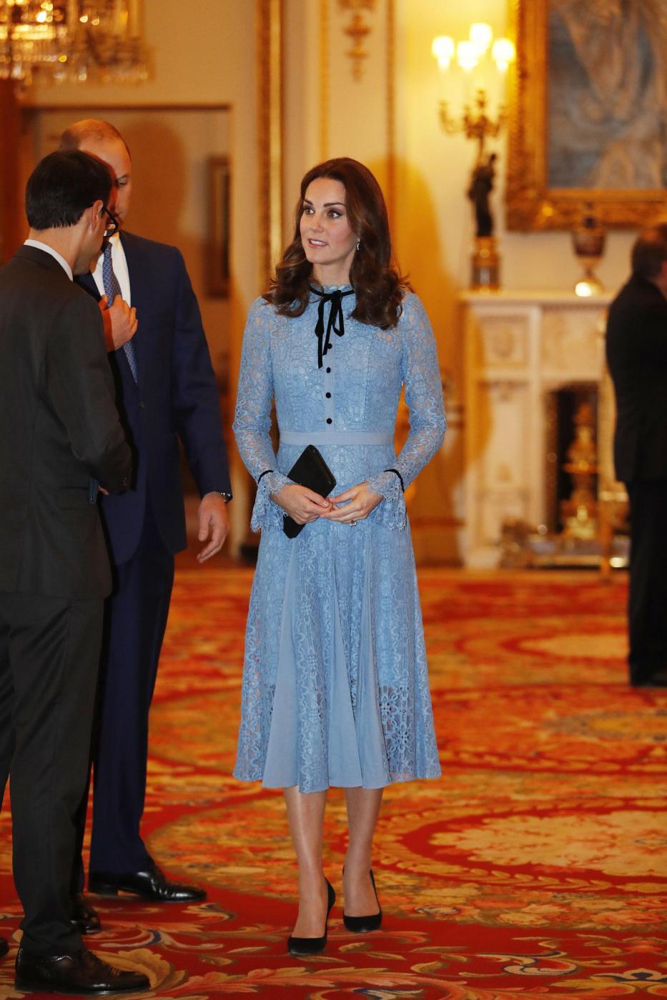 Buckingham Palace, evento per la Giornata Mondiale della salute Mentale
