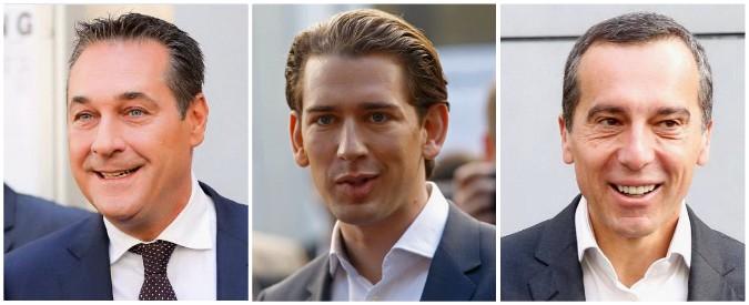 Elezioni Austria, exit poll: Kurz al 31%, ultradestra al 29%, socialdemocratici al 25%