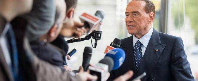 """Larghe intese, Berlusconi nega: """"Grande coalizione con il Pd? Troppe distanze. Governo con membri della società civile"""""""