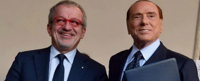 Regionali, passo indietro di Maroni mette in discussione l'accordo nel centrodestra. B., dubbi su Fontana. 'Bobo ministro? No'