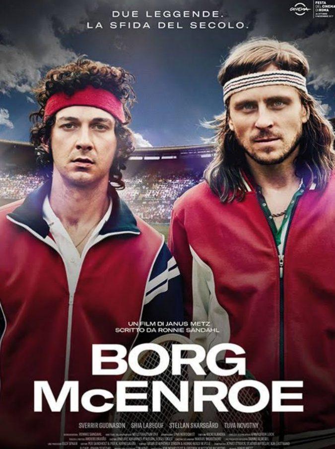 """""""Borg McEnroe"""", il film che racconta la sfida perfetta tra le prime due rockstar del tennis mondiale"""